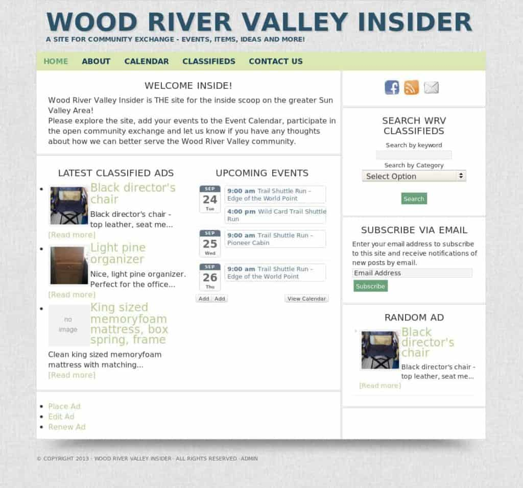 Wood River Valley Insider