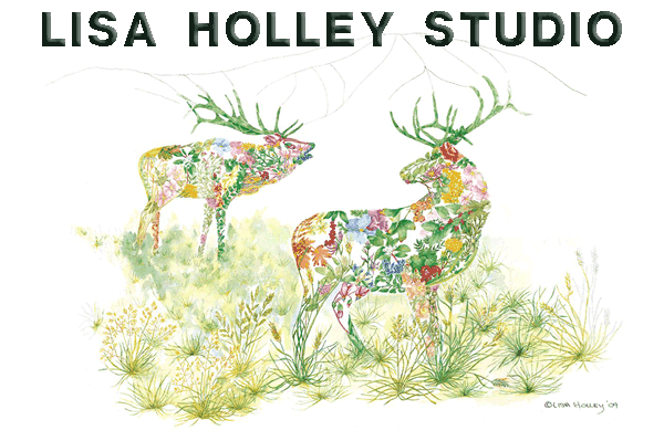 Lisa Holley Studio artist portfolio WordPress website design and development