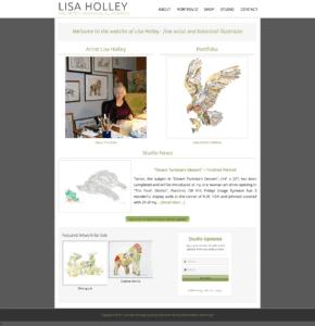 Lisa Holley Studio – 2015 Redesign