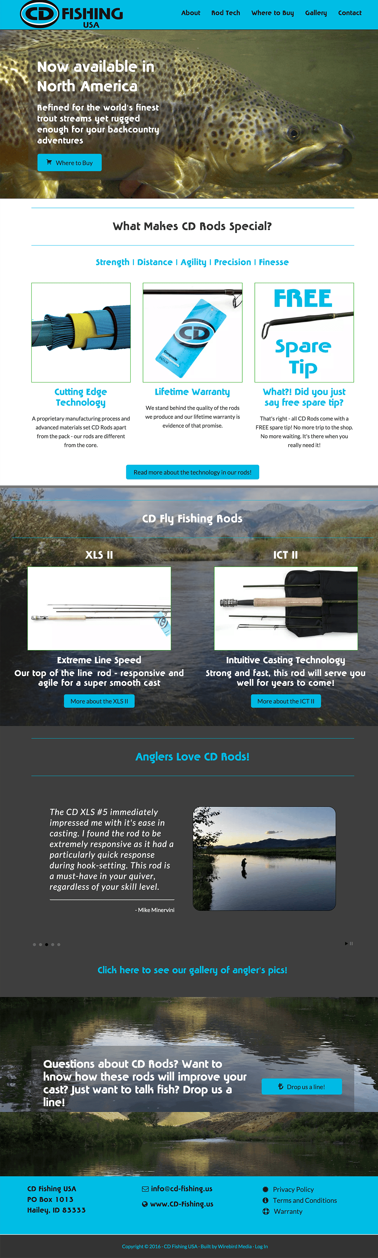 Cd-Fishing-WordPress-Website